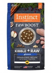 Nature's Variety Instinct 生肉粒 無穀物 雞肉配方 老犬糧 21磅
