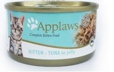 Applaws Jelly系列 幼貓配方 吞拿魚 貓罐頭-70g