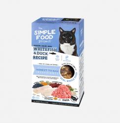 The Simple Food Project 維簡 凍乾脫水貓糧 白魚+鴨配方 24oz (1.5磅)