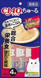 Ciao SC-159 綜合營養食 吞拿魚+帶子醬 14g (內含4小包)