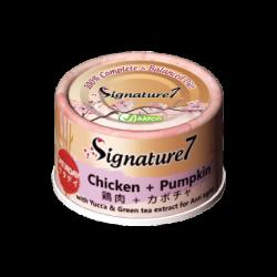 Signature7 [星期六]雞肉+南瓜 抗衰老 70g  X24罐原箱優惠
