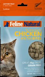 F9 Natural Chicken Healthy Bites 凍乾雞肉粒貓零食 50g 到期日: 16/04/2021