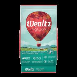 Wealtz 成犬配方 - 鮮雞肉、超級食物食譜 (紅色) 1.2Kg
