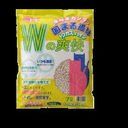 <<穿袋>>  爽快「W」豆腐砂 7L