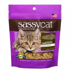 Sassy Cat 野生三文魚無穀物貓零食 25g