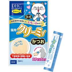日本DHCペット 貓小食 鏗魚醬 尿道健康配方 (10g x 5條) x2包優惠