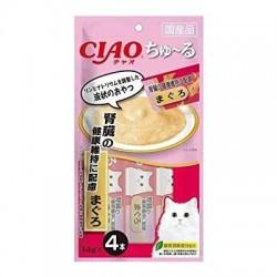 Ciao SC-157 吞拿魚醬 (腎臟健康維持) (14gx4) x2包