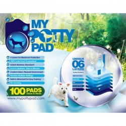 My Potty Pad 殿堂級寵物尿墊 (33 X 45cm 100片)