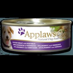 Applaws 全天然 狗罐頭 雞柳, 菜 156g