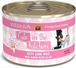 Weruva Cats in the Kitchen Kitty Gone Wild 野生三文魚 美味肉汁 170g