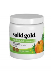 Solid Gold Hairball Aid Chews 120粒