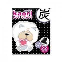 Kaori pet sheets 竹炭厚尿片 60x90cm 22片 x2包優惠