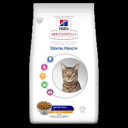 [凡購買處方用品, 訂單滿$500或以上可享免費送貨]  Hill's VetEssentials Adult 7+ (Dental) 老貓獸醫配方糧 1.5kg