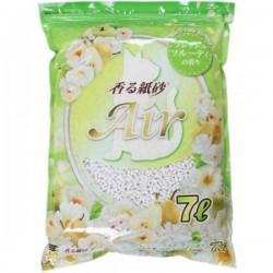 Super Cat 超級貓 Air3D立體紙砂(綠色水果香味) 7L