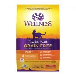 Wellness Complete Health 無穀物 成貓室內貓 雞肉配方 11磅8安士 x2包