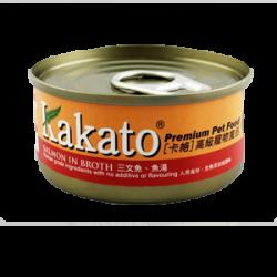 Kakato 卡格 三文魚 魚湯 70g
