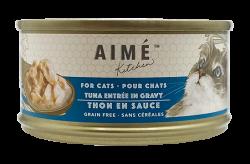 Aimé Kitchen 鮮吞拿魚Tuna in Gravy 貓罐 85g  x24罐優惠