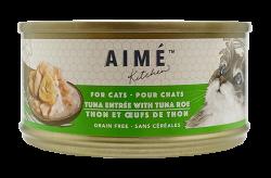 Aimé Kitchen 吞拿魚配魚子Tuna with Tuna Roe 貓罐 85g x24罐優惠