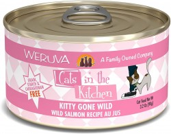 Weruva Cats in the Kitchen 罐裝 Kitty Gone Wild 野生三文魚 美味肉汁 90g