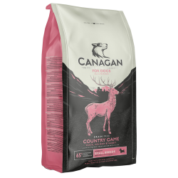 Canagan 無穀物 田園野味 鴨+鹿+兔肉  (全犬及小型犬用)2kg