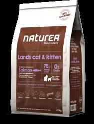Naturea Lands Cat & Kitten 無穀物全貓配方 (三文魚+雞肉+兔肉) 7kg