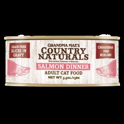 Country Naturals  無穀物天然汁煮鮮味三文魚配方 5.5oz
