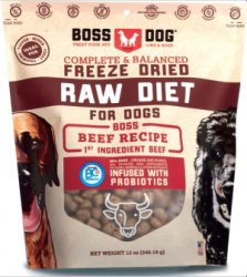 Boss Dog 凍乾生肉 牛肉食譜 12oz