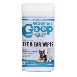 Groomer's Goop 亮麗 耳眼除污濕紙巾 20片