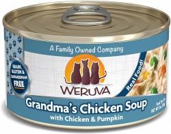 Weruva Grandma's Chicken Soup 走地雞+南瓜 貓罐頭 3oz