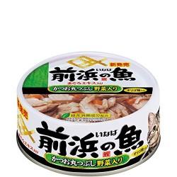 前浜之魚  鰹魚(原條拆肉)+野菜 115g
