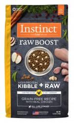 Nature's Variety Instinct 生肉粒 無穀物 雞肉配方 狗糧 21磅