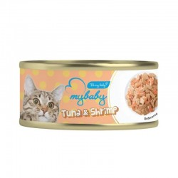 Be My Baby  吞拿魚+蝦 Tuna & Shrimp 貓罐頭 85g
