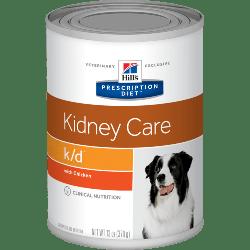 [凡購買處方用品, 訂單滿$500或以上可享免費送貨]  Hill's k/d 腎臟護理 處方狗罐頭 13oz x12罐 原箱優惠
