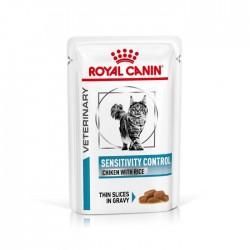 Royal Canin - Sensitivity Control 貓隻敏感處方濕糧100g x12包
