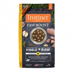 Nature's Variety Raw boost 本能原野生肉 無穀物雞肉配方10磅