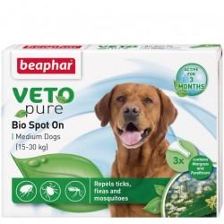 Beaphar VETO Nature 自然滴劑 (1盒3支 - 中型犬15-30kg )  到期日: 25/09/2021
