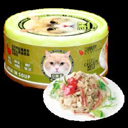 忌廉哥 雞肉 + 牛肝貓罐頭 70g