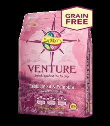Earthborn Venture 兔肉+南瓜 單一蛋白配方 全犬 4磅