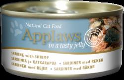 Applaws Jelly系列 沙丁魚+蝦 貓罐頭 70g