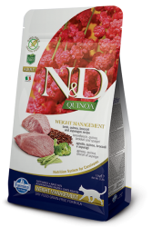 Natural & Delicious 藜麥功能天然貓糧 – 羊肉 體控 1.5kg