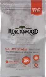 Blackwood Salmon & Field Pea Recipe 三文魚+豌豆 無穀全年齡 低敏挑嘴配方 狗糧 30lb 到期日:23/09/2021