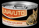 Nunavuto 吞拿魚三文魚貓罐 80g