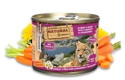 Natural Greatness 頂級貓罐頭 兔肉和鴨肉 200g