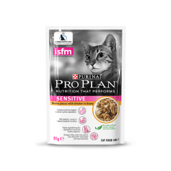 Pro Plan 成貓敏感配方 (醬汁雞肉) 85g 到期日: 08/2021