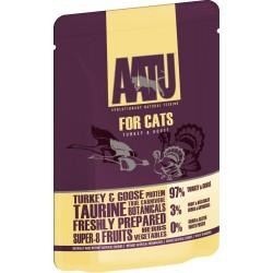 AATU  全配方貓濕糧包 火雞+鵝 85g