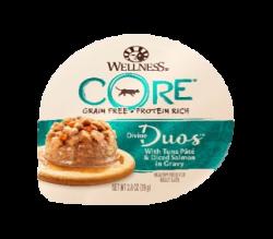 Wellness Core Divine Duos  雙重滋味杯 吞拿魚茸+三文魚肉丁 2.8oz