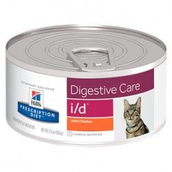 Hill's Prescription Diet - i/d 貓-腸胃保健配方罐頭 5.5oz x24罐