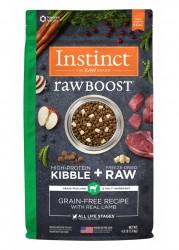 Nature's Variety Instinct 生肉粒 無穀物 羊肉配方 狗糧 4磅