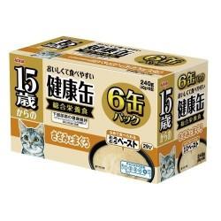 Aixia 15+ 健康慕斯貓罐- 雞肉+吞拿魚 KCG6-6  40gx6罐裝