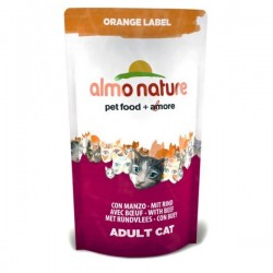 Almo Nature Orange Label 牛肉 成貓糧 750g
